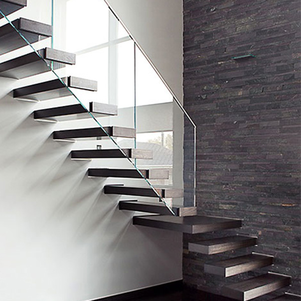 7 Ultra Modern Staircases: Modern Floating Staircase Indoor Wooden Staircase Design