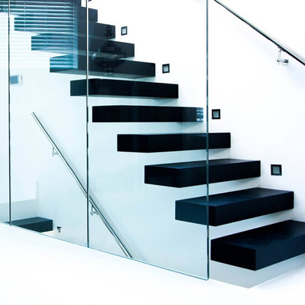 Outdoor Floating Stairs Florida Project: Factory Wholesale Professional Floating Staircase With
