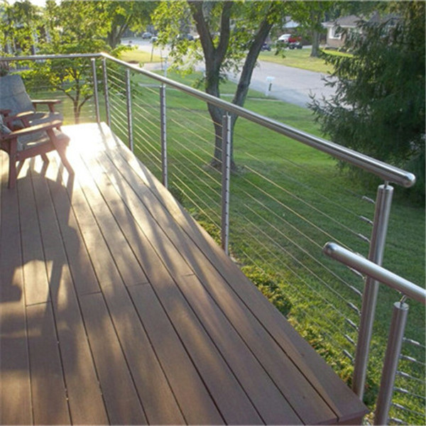 Modern Design Diy Install Stainless Steel Cable Railing