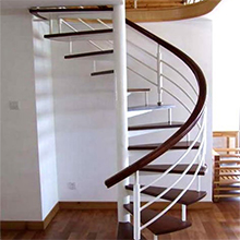 Space Saving Restuarant Project Prefabricated Iron Grill Spiral Staircase Designs Wood Stair Treads Solid