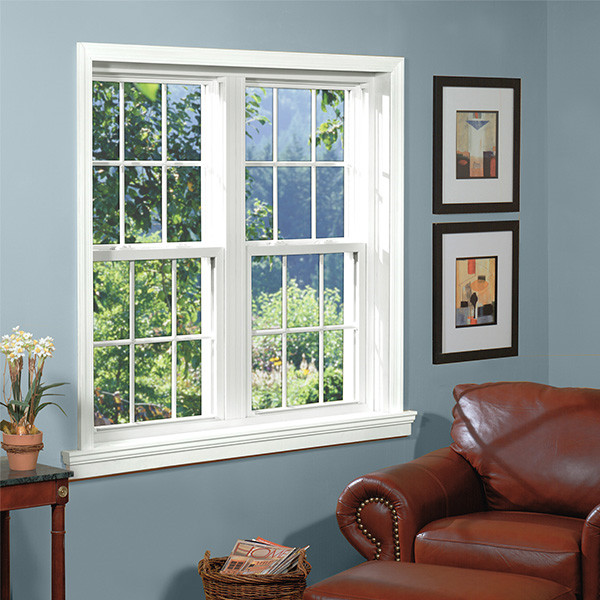 Double glazing tempered glass aluminum window