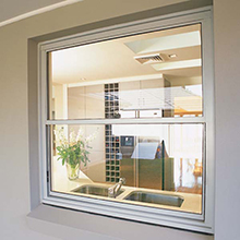 Wholesale tempered glass single hung windows