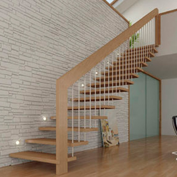Suspended Style 32 Floating Staircase Ideas For The: Residential/Commercial Prefabricated Modern Metal Rod