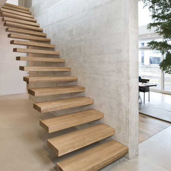 Outdoor Floating Stairs Florida Project: Residential/Commercial Prefabricated Modern Metal Rod