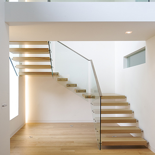 Outdoor Floating Stairs Florida Project: Highly Cost-effective Floating Staircase Design With 316