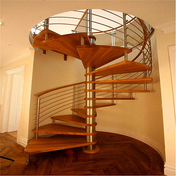 Space Saving Staircase Designs: Space Saving Restuarant Project Prefabricated Iron Grill
